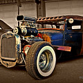 Rat Rod Scene 2 by Perry Webster