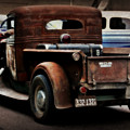 Rat Rod Work Truck by Perry Webster