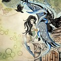 Raven Faery by Ora  Moon