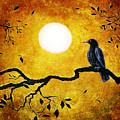 Raven In Golden Splendor by Laura Iverson