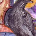 Raven Steals Sunlight by K Hoover