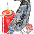 Raven by Yana Sadykova