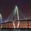 Ravenel Bridge Twilight by Rick Berk
