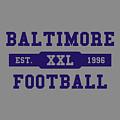 Ravens Retro Shirt by Joe Hamilton