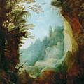 Ravine Between Rocks by Joos de Momper the Younger