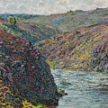 Ravines Of The Creuse At The End Of The Day by Claude Monet
