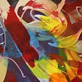 Raw Paint - 281 by Robert Dixon