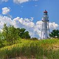 Rawley Point Lighthouse by Joan Carroll
