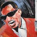 Ray Charles  by Jon Baldwin  Art