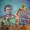 Ray Harryhausen Tribute Jason And The Argonauts by Bryan Bustard