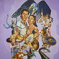 Ray Harryhausen Tribute Seventh Voyage Of Sinbad by Bryan Bustard