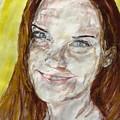 Rayah Newman, Portrait by Sviatoslav Alexakhin