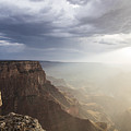 Rays On The Grand Canyon  by John McGraw