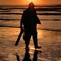 Razor Clam Hunter by Larry Keahey
