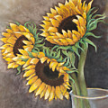 Reaching Sunflowers by Susan Jenkins