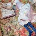 Reader Lying Down by Edgar Degas