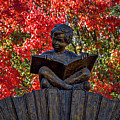 Reading Boy - Santa Fe by Stuart Litoff