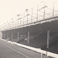 Reading - Elm Park - Norfolk Road Stand 1 - Bw - 1968 by Legendary Football Grounds