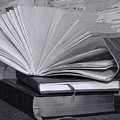 Reading In Black And White by Pamela Walton