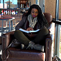 Reading In Starbucks by Floyd Snyder