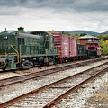 Reading Locomotive 467  by Kristia Adams
