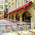 Ready For Lunch In Lyon by Kirsten Giving