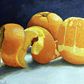 Ready For Oranges by Linda Apple