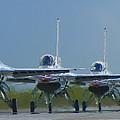 Ready For Takeoff by Bob Mintie