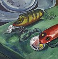 Ready To Fish by Kathy Kucia