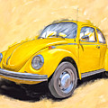 Ready To Go - Vintage Bug by Mark Tisdale