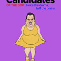 Real Candidates Of The Gop - Chris Christie - The Man-eater by Sean Corcoran