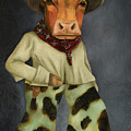 Real Cowboy 2 by Leah Saulnier The Painting Maniac