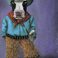 Real Cowboy by Leah Saulnier The Painting Maniac