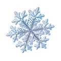 Real Snowflake - Hyperion White by Alexey Kljatov