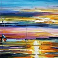 Real Sunset by Leonid Afremov