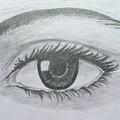Realistic Eye by Gagandeep Kaur
