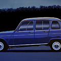 Renault 4 1961 Painting by Paul Meijering