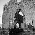 Rear Entrance Fuerty Church Roscommon Ireland by Teresa Mucha