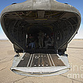 Rear Platform Of A Ch-47 Chinook by Terry Moore