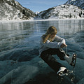 Rebecca Quinton Laces Up Her Ice Skates by Michael S. Quinton