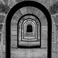 Receding Arches II by Helen Northcott