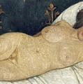 Reclining Female Nude by Paula Modersohn-Becker