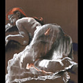 Reclining Figure With Skirt by Gideon Cohn