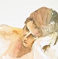 Reclining Head by Eugenia Picado