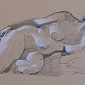 Reclining Nude 2 by Robert Bissett