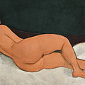 Reclining Nude On The Left Side  by Amedeo Modigliani