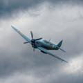 Reconnaissance Spitfire Flypast by Nigel Bangert