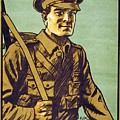 Recruitment Poster Follow Me Your Country Needs You by English School