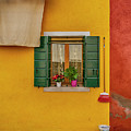Rectangle Iterations Broom And Laundry Burano_dsc5134_03042017 by Greg Kluempers