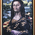 Recycled Mona by Alicia  LaRue